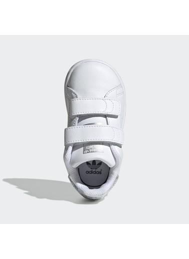 adidas Adidas Bebek Günlük Spor Ayakkabı Stan Smith Cf I Ee8485 Beyaz